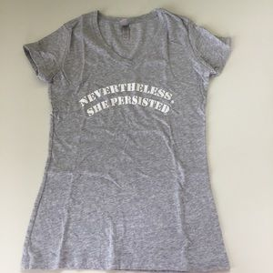 Next Level Feminist Nevertheless She Persisted Tee